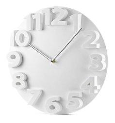 Zegar biały