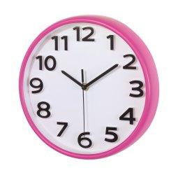 Zegar ścienny Halley, magenta