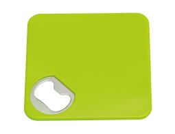 Podkładka z otwieraczem TOGETHER, zielony
