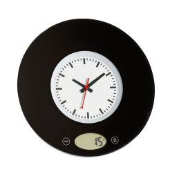 Zegar ścienny z wagą