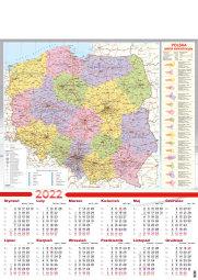 Kalendarz jednoplanszowy A1