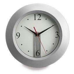 Zegar na ścianę ze zdejmowaną tarczą, czarny