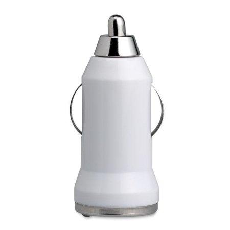 Ładowarka USB do samochodu, biały