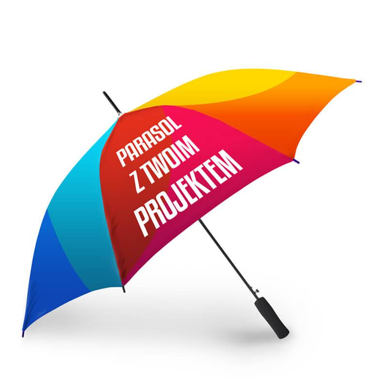 Parasol z indywidualnym projektem