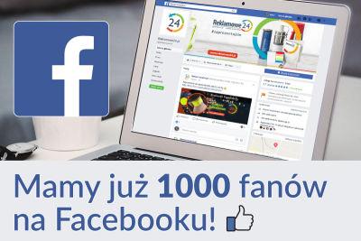 Mamy już 1000 fanów na Facebooku!